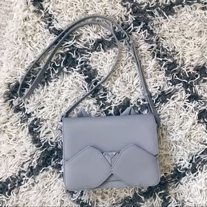 Oribagu Grey Kitten Crossbody bag